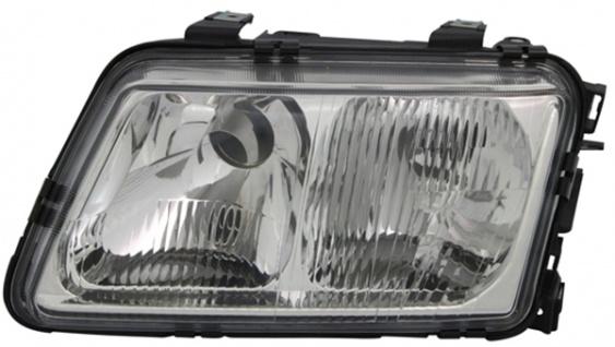 H4 / H7 Scheinwerfer links TYC für Audi A3 8L 96-00