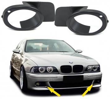 Nebelscheinwerfer Blenden Cover Paar für BMW 5er E39 95-03