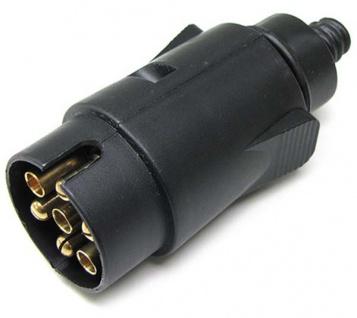 Auto Anhänger Adapter Stecker 7 polig ISO 1724 für 12v