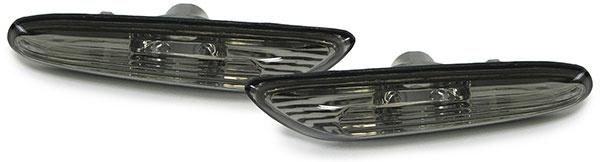Seitenblinker schwarz smoke für BMW 3ER E46 00-01 5er E60 E61 03-10 X3 E83 04-10