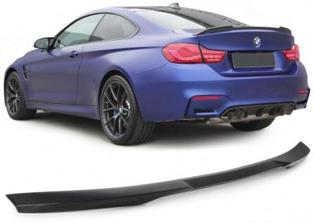 Echt Carbon Heckspoiler Sport Optik für BMW 4er F32 ab 13