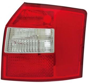 Rückleuchte / Heckleuchte rechts TYC für Audi A4 Avant 8E 00-04