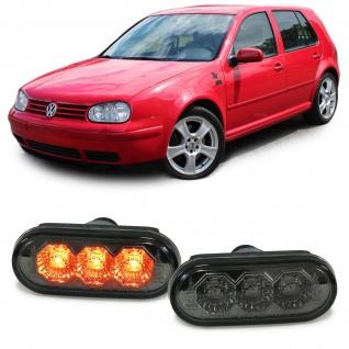 LED Seitenblinker schwarz smoke für VW Golf 3 4 Bora Lupo Passat 3B 3BG Sharan