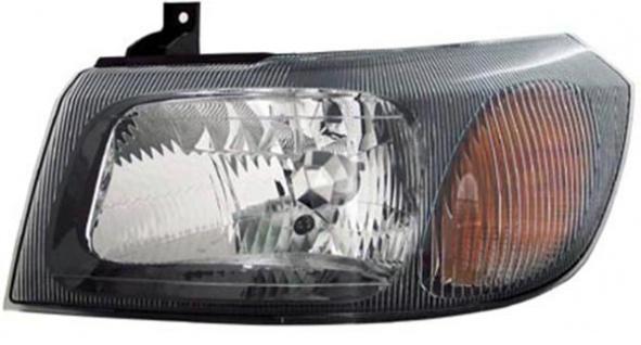 H4 Scheinwerfer schwarz links TYC für Ford Transit 02-06