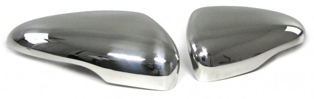 Spiegelkappen Abdeckungen Edelstahl Chrom für VW Golf 6 Limousine ab 08