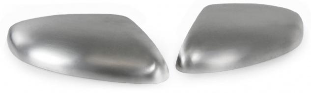 Aussen Spiegelkappen Abdeckungen Cover Alu matt für Nissan Qashqai ab 14