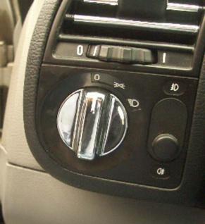 Dreh Schalter Regler für Lüftung und Heizung chrom 2 Stück für BMW 3ER E36