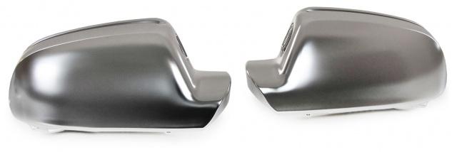 Spiegelkappen Chrom Matt zum Austausch für Audi A3 10 -13 A4 09-15 A5 8T 09-17