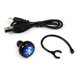Bluetooth Headset kabellos mit Haltebügel Lange Akkulaufzeit sehr leicht