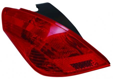 Rückleuchte / Heckleuchte links TYC für Peugeot 308 07-
