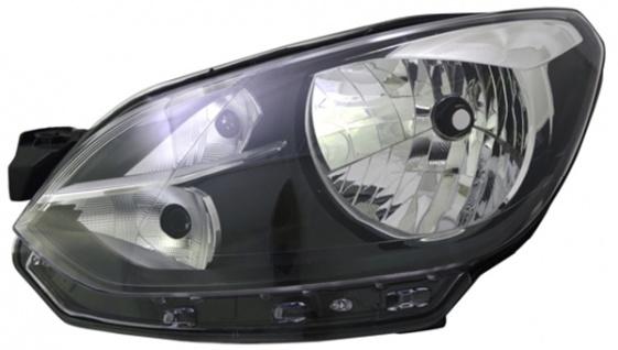 H4 Scheinwerfer schwarz links TYC für VW Up 11-