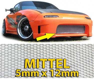 Alu Gitter Renngitter Wabengitter Racegitter Alu 150X30cm silber Mittel