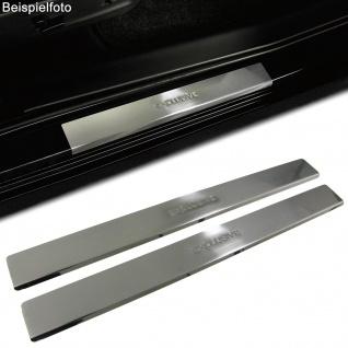 Einstiegsleisten Schutz 2 tlg Edelstahl Exclusive für Peugeot 307 CC ab 07