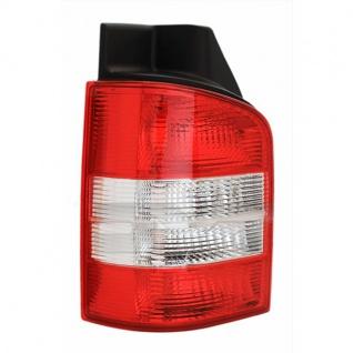 Rückleuchte rot klar links - Heckklappe für VW T5 Bus + Transporter 03-09