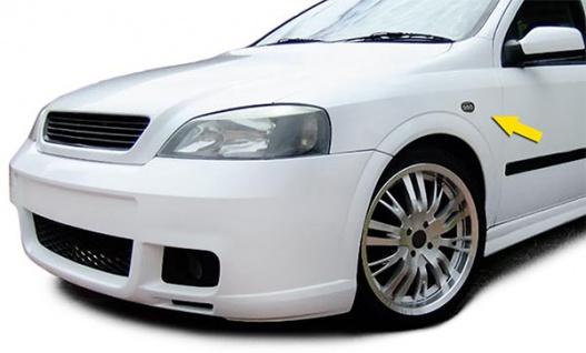 LED Seitenblinker Klarglas schwarz für Opel Astra G 97-04 Zafira A 99-05 - Vorschau 2