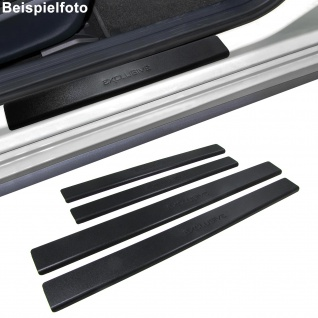 Einstiegsleisten Schutz schwarz Exclusive für VW Golf 2 II 5-Türer 83-92