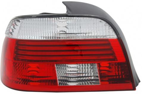 LED RÜCKLEUCHTE / HECKLEUCHTE WEISS LINKS TYC FÜR BMW 5ER Limousine E39 00-04
