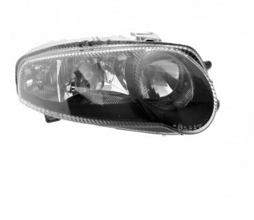 H1 / H7 / H7 Scheinwerfer schwarz rechts TYC für ALFA Romeo 147 GTA 00-05