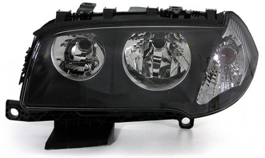 Scheinwerfer H7 H7 mit LWR Motor schwarz links für BMW X3 E83 04-06