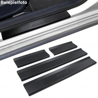Edelstahl Einstiegsleisten Exclusive schwarz für Kia Picanto Ba 04-10