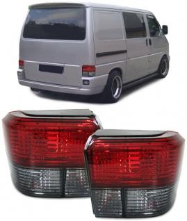 Rückleuchten rot schwarz Kristall für VW Bus T4 90-03