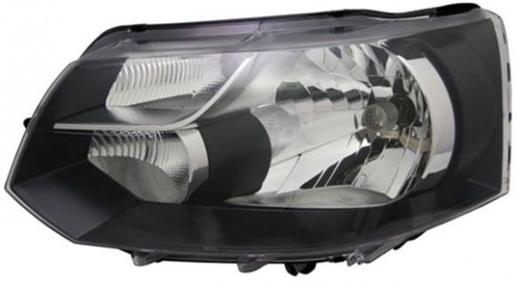 H4 Scheinwerfer schwarz links TYC für VW Bus Transporter T5 09-