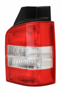 Rückleuchte rot klar rechts - Heckklappe für VW T5 Bus + Transporter 03-09