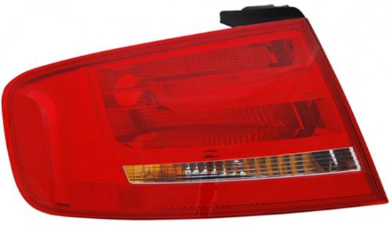 Rückleuchte / Heckleuchte Aussen links TYC für Audi A4 Limousine 8K 07-11