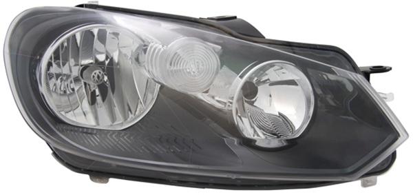 H7 / H15 Scheinwerfer rechts TYC für VW Golf VI 08-