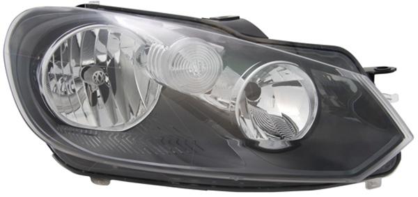 H7 / H15 Scheinwerfer rechts TYC für VW Golf VI Cabrio 11-