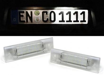 LED Kennzeichenbeleuchtung weiß 6000K für Porsche 911 964 968 993 996 Boxster