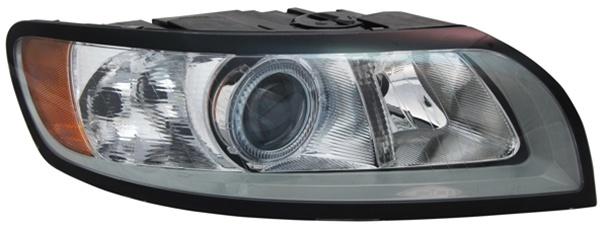 H7 / H9 Scheinwerfer grau rechts TYC für Volvo S40 II 07-
