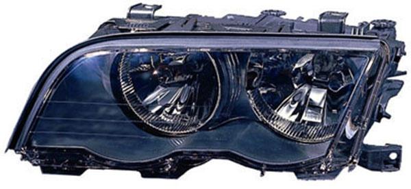 H7 / H7 Scheinwerfer schwarz links TYC für BMW 3ER Coupe Cabrio E46 99-01