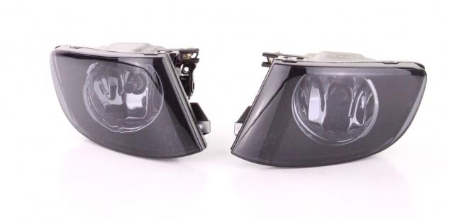 Klarglas Nebelscheinwerfer schwarz smoke für BMW 3ER E92 E93 Coupe Cabrio