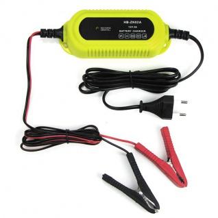 Kfz Batterieladegerät Batterieerhaltung mit LED für PKW Motorrad Boot 12V 2A - Vorschau 2