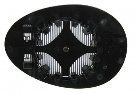 Aussen Spiegelglas rechts für Mini R55 56 57 58 59 ab 06