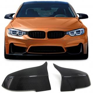 Sport Carbon Spiegel Kappen für BMW 3ER F30 F31 F34 F35 4er F32 F33 F36 1ER X3