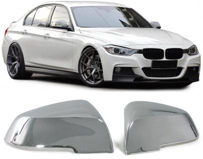 Aussen Spiegelkappen Abdeckungen Cover chrom für BMW 3ER F30 Limousine ab 11