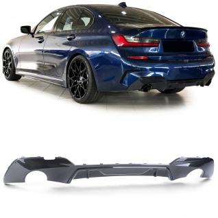 Heckdiffusor Sport Optik Carbon Look für BMW 3er G20 Limousine ab 18