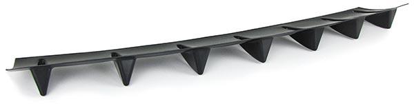 Universal Heck Diffusor für Stoßstange hinten mit 7 Finnen lackierbar - Vorschau 3