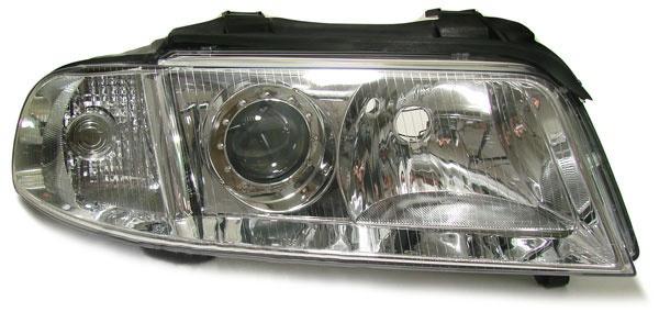Facelift DE Klarglas Scheinwerfer rechts für Audi A4 B5 99-00