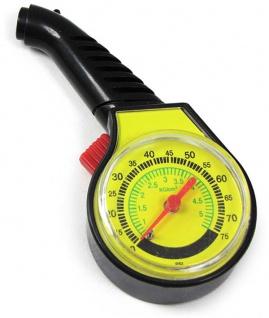 *** Auto KFZ Reifendruckmesser Luftdruckprüfer Manometer Analog
