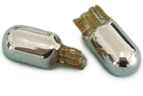 Klarglas Seitenblinker chrom für Mercedes Sprinter Vito W210 SLK R170 - Vorschau 4
