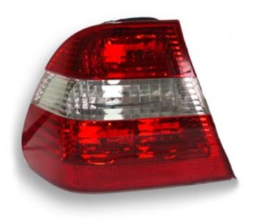 RÜCKLEUCHTE ROT KLAR LINKS FÜR BMW 3ER E46 Limousine ab 2001