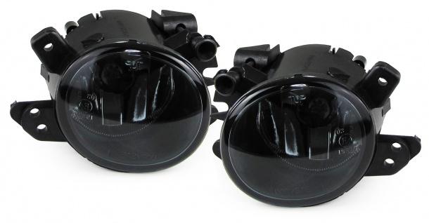 Klarglas Nebelscheinwerfer schwarz für Mercedes C Klasse W204 CL C216 GLK X204