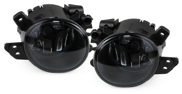 Klarglas Nebelscheinwerfer schwarz für Mercedes E Klasse W212 C207 A207 GLA X156