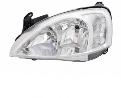H7 / H7 Scheinwerfer links TYC für Opel Corsa C 03-06