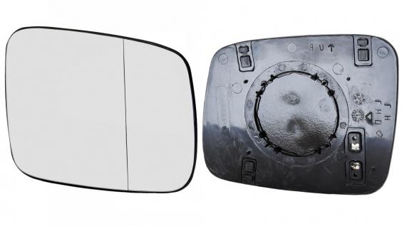 Spiegelglas beheizbar links für VW Bus T4 90-03