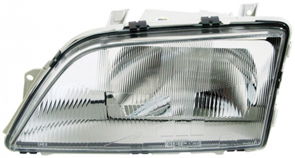 H4 Scheinwerfer links TYC für Opel Omega A 86-94