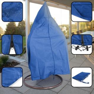 Premium Schutzabdeckung Schutzhülle Cover für Hängesessel Blau 190x100cm